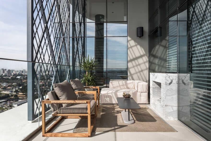 Parque Apartment / Giuliano Marchiorato Arquitetos