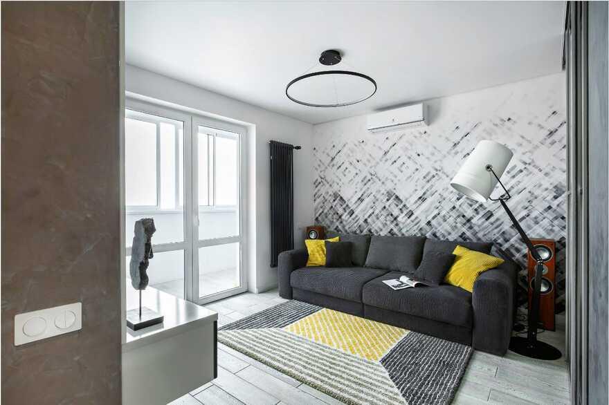 living room, Designers Pavel and Svetlana Alekseeva