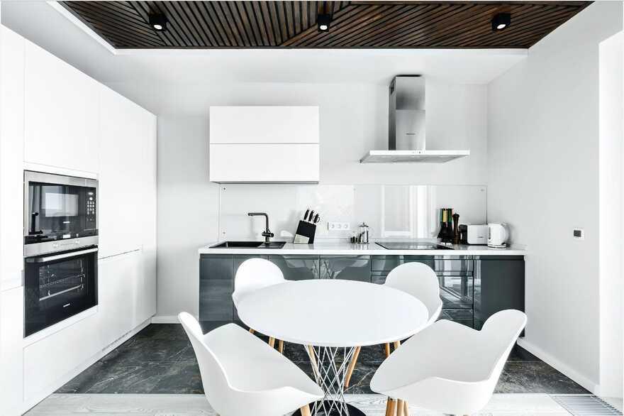 dining room, Designers Pavel and Svetlana Alekseeva