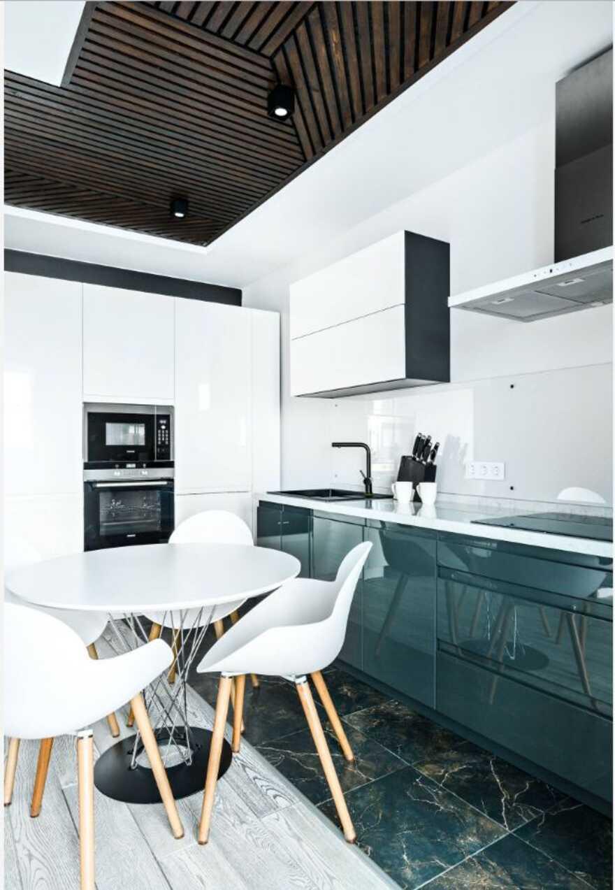 kitchen, Designers Pavel and Svetlana Alekseeva