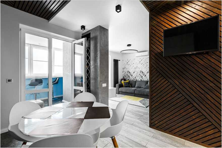 Serpukhov Apartment in Moscow for a Young Couple