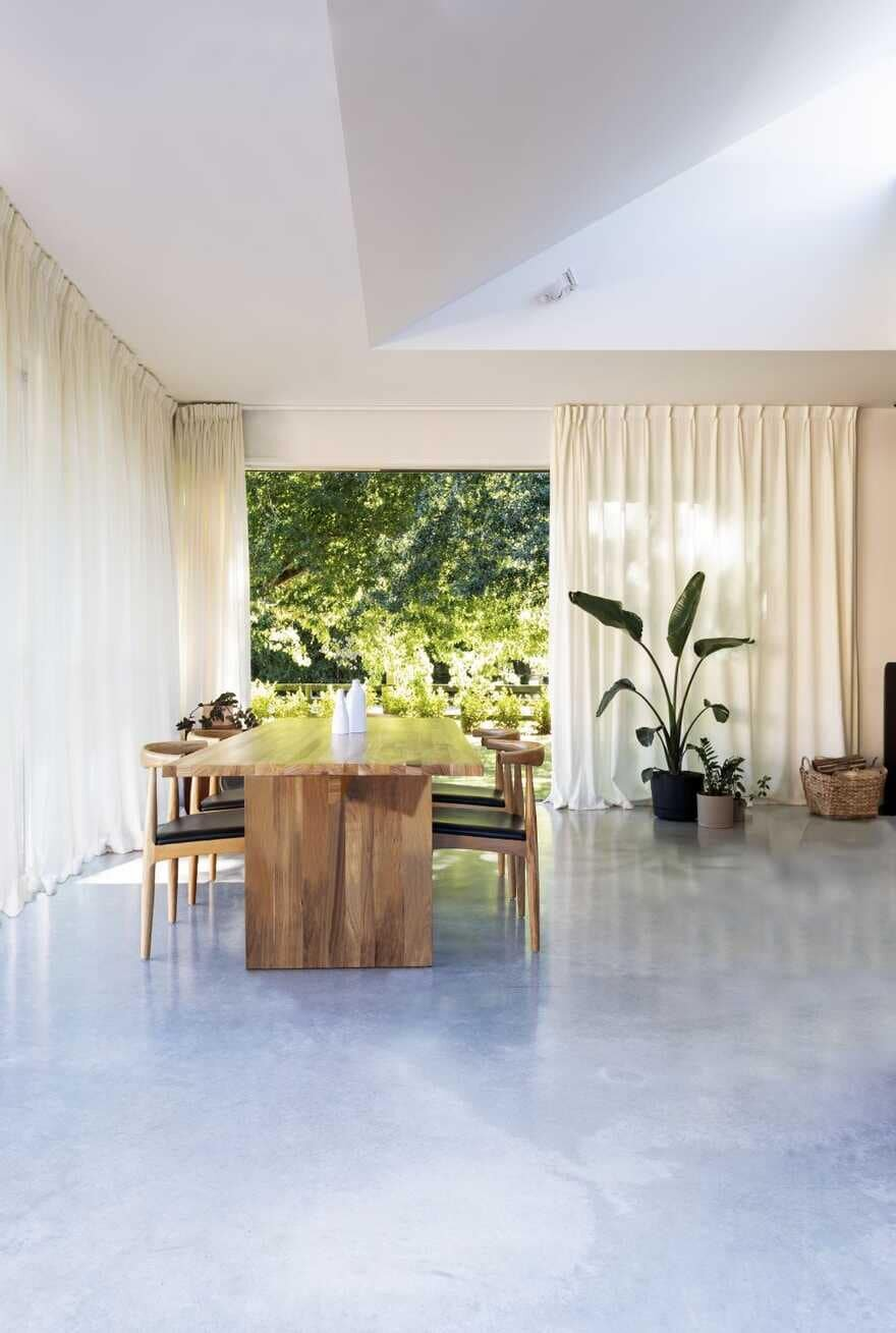 dining room, New Zealand / Red Architecture