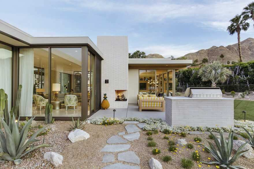 Updating a Mid-Century Modern Residence Near Palm Springs
