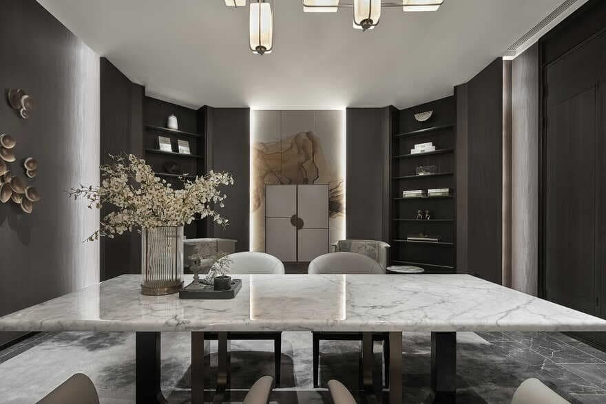 Dothink • Daja Elegant Mansion Experience Center / GFD Interior Designs