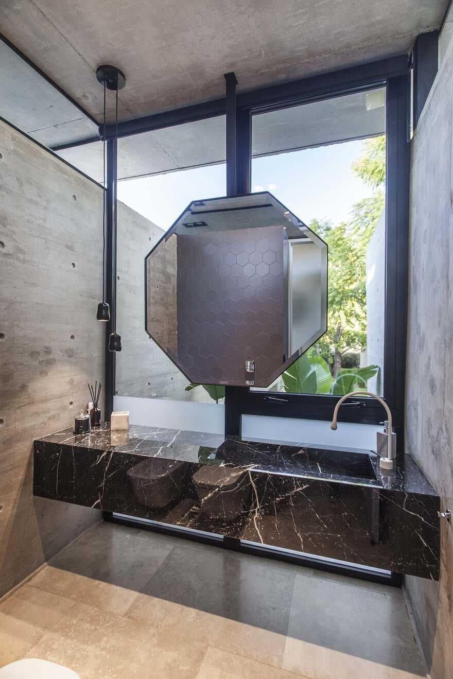 bathroom, Argentina / Estudio Jorgelina Tortorici