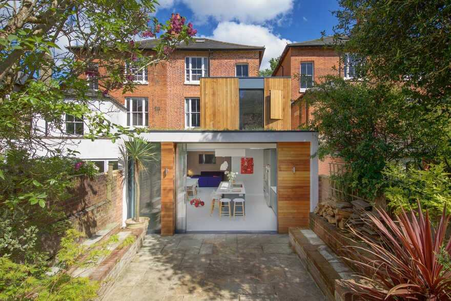 Carter House - Contemporary Two Storey Extension to a Victorian House