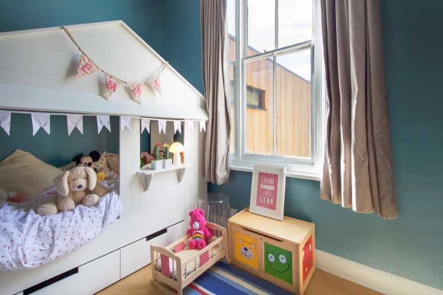 kids room, Adam Knibb Architects