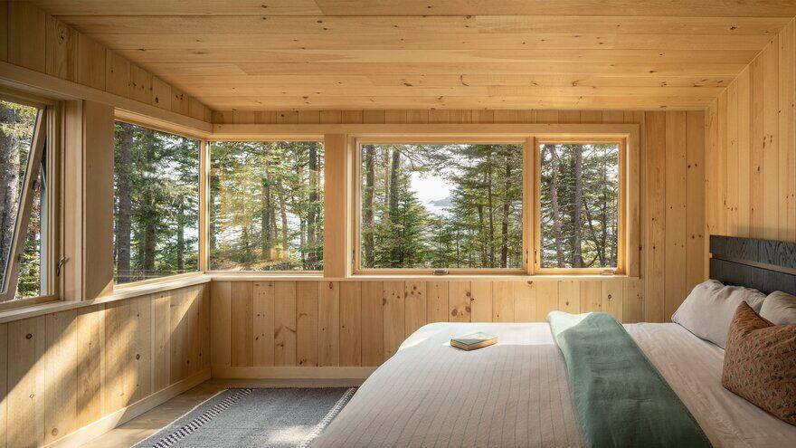 bedroom / Whitten Architects