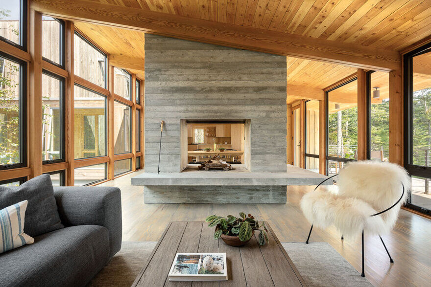 living room / Whitten Architects