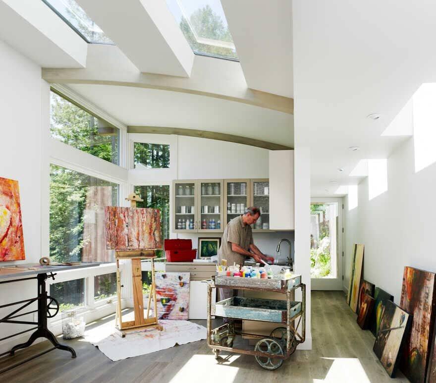 artist studio, California / Feldman Architecture