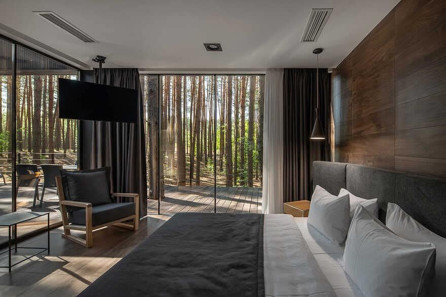 bedroom - New Hotel Rooms for Recreational Complex Verholy Relax Park