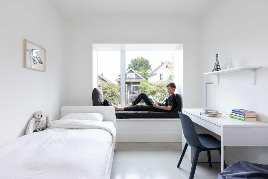 bedroom / D'Arcy Jones Architecture