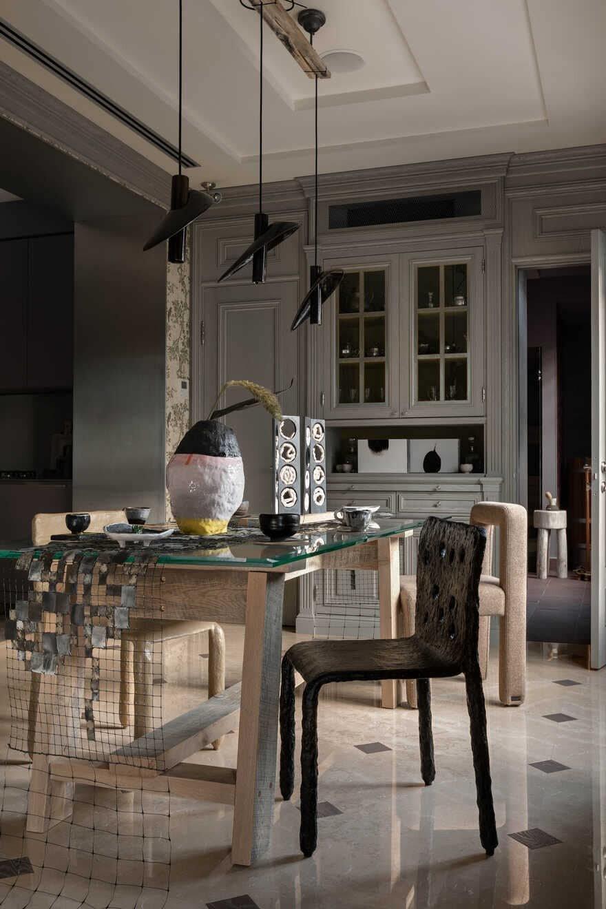 dining room, Decoding by Alexandrine Lukach