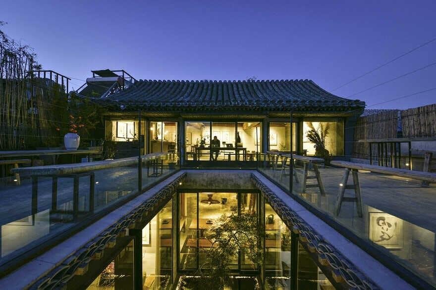terrace, Wudaoying Hutong / Tanzo Space Design