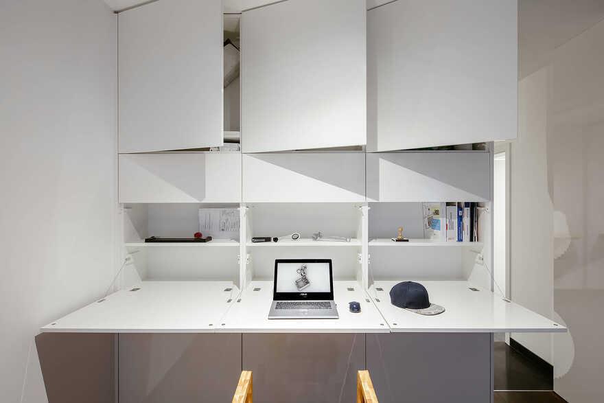 home office, Prague / Archistroj
