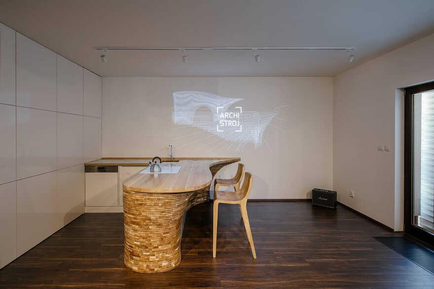 Parametric Interior Design, Prague / Archistroj Design Studio