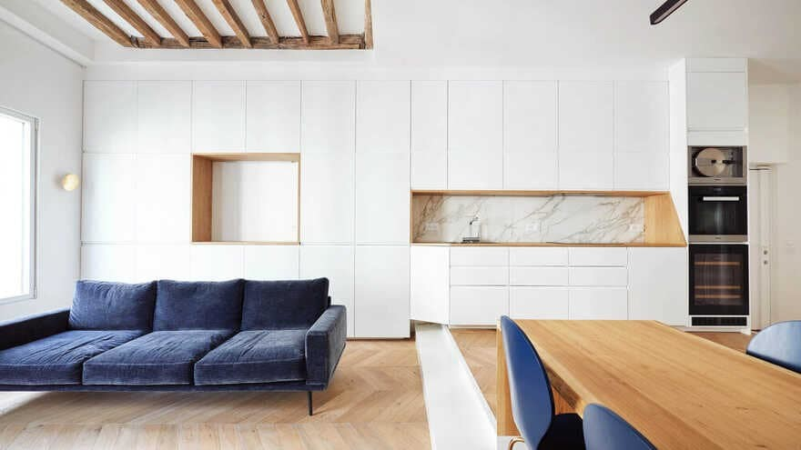 Parisian Apartment Refurbishment / JCPCDR Architecture