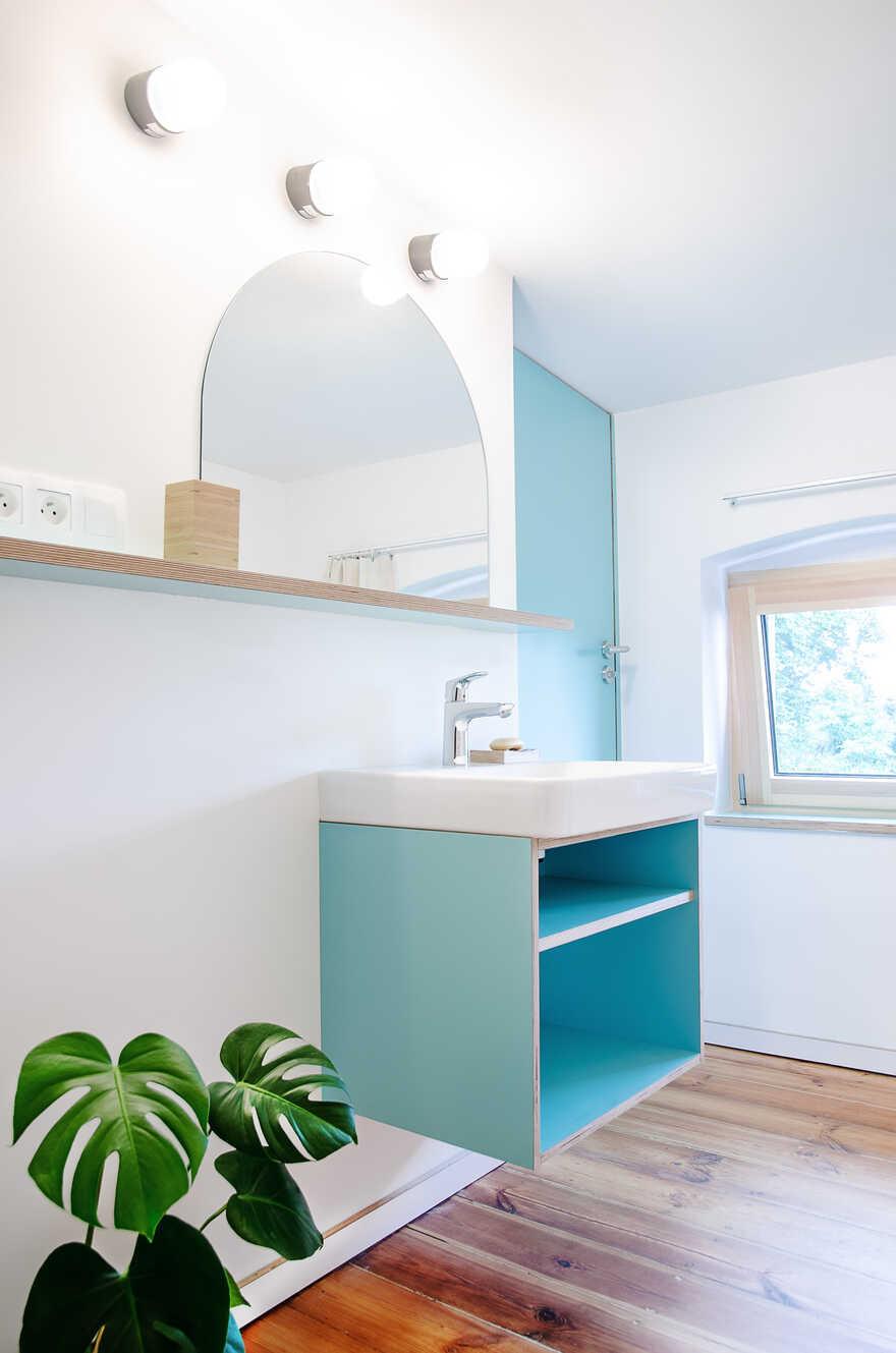 bathroom, Atelier Starzak Strebicki