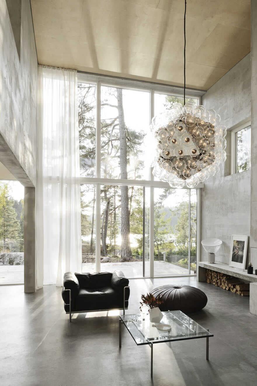 living room, Sweden / Arrhov Frick Arkitektkontor