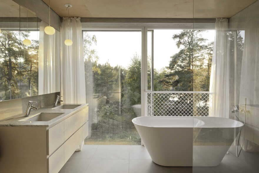bathroom, Sweden / Arrhov Frick Arkitektkontor