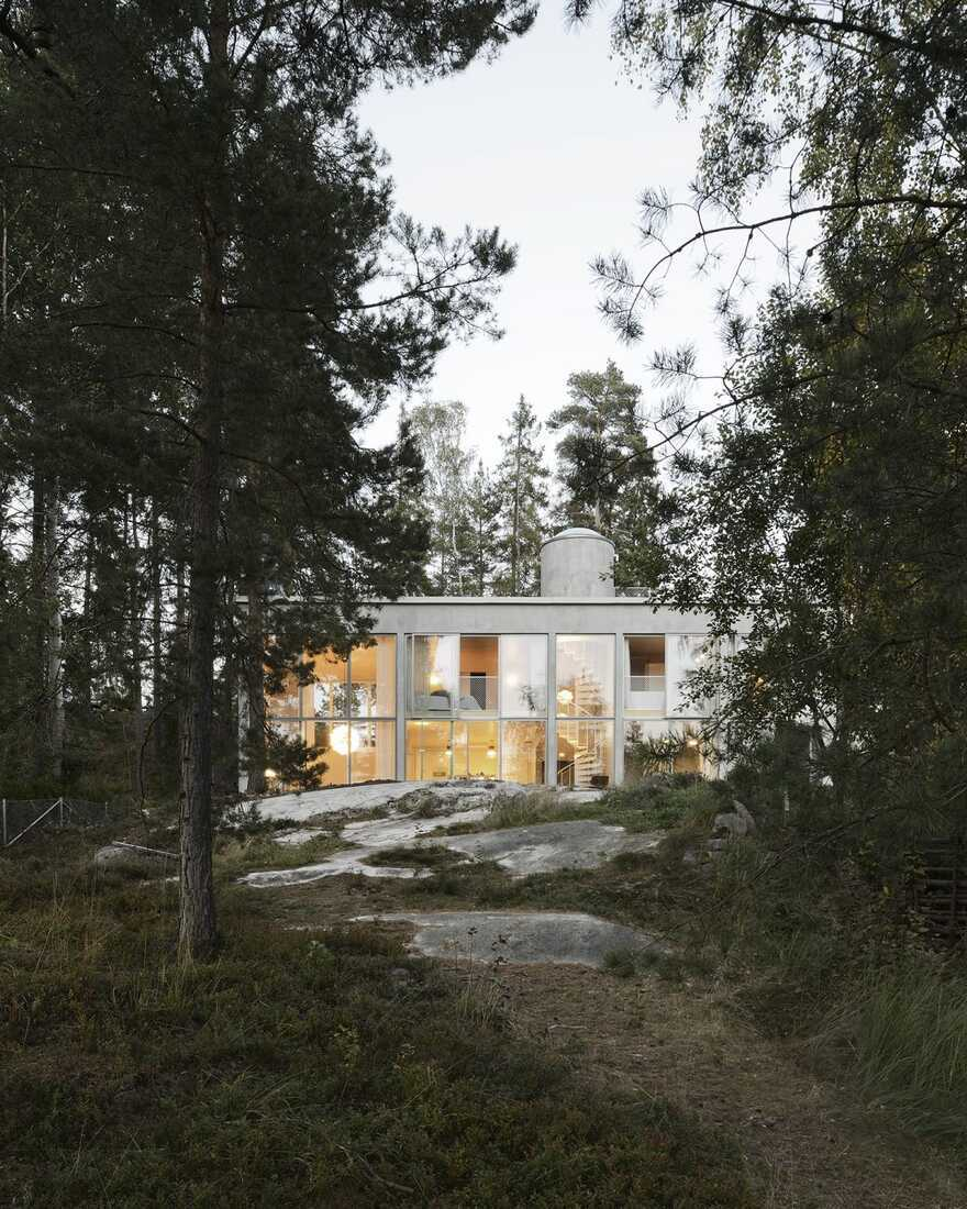 Six Walls House, Sweden / Arrhov Frick Arkitektkontor