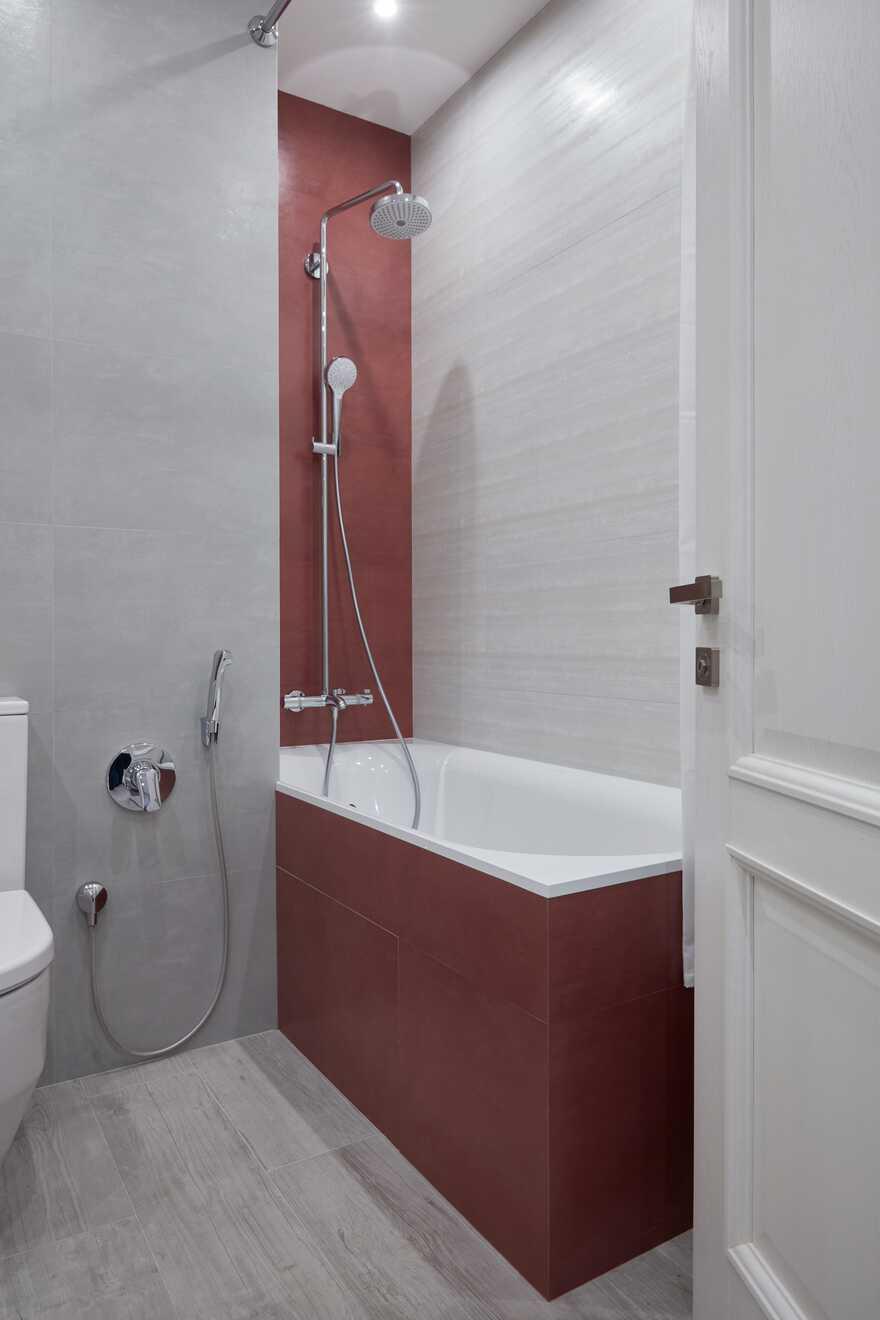 bathroom, architect Maksim Novinkov