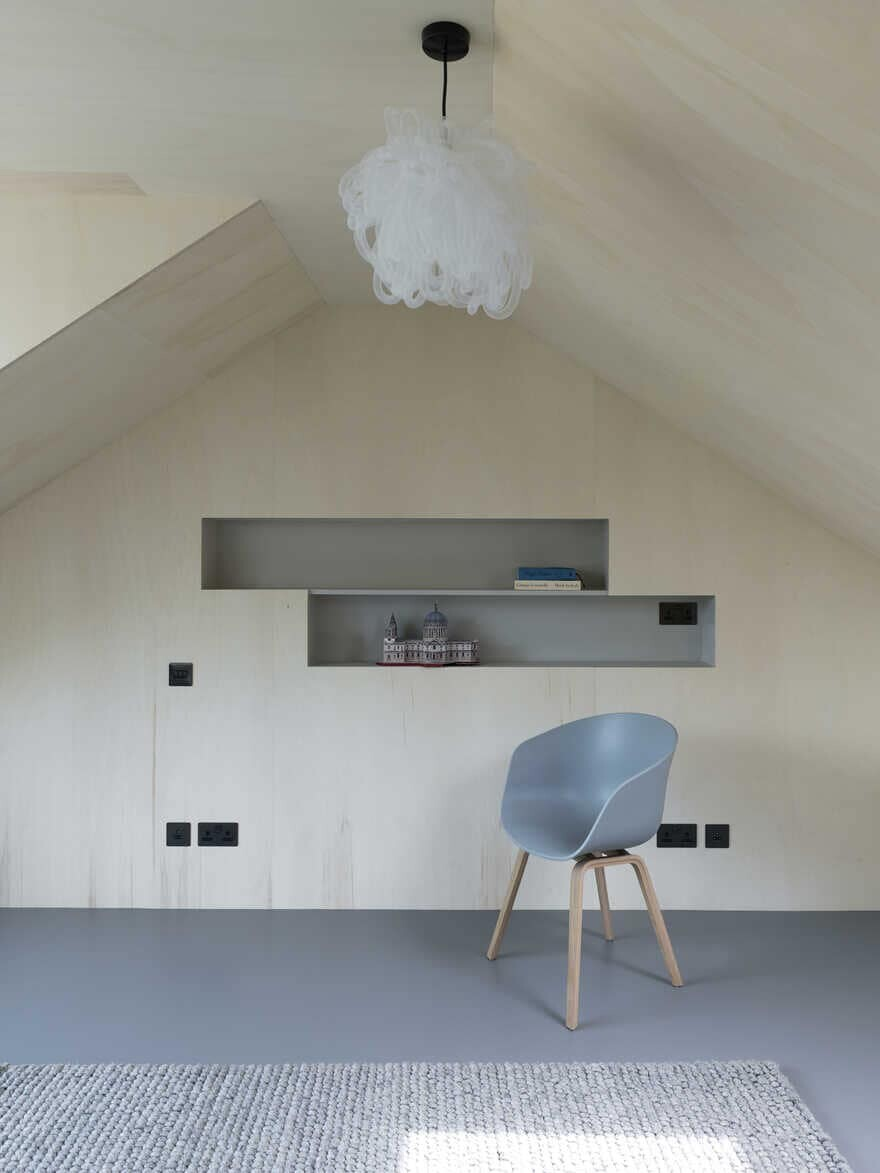 Ply-Lined Play Room, interiors, Inglis Badrashi Loddo