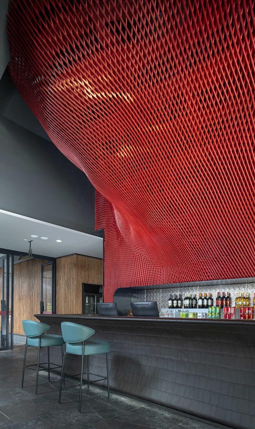 bar / IN.X - Interior Architect Wu Wei
