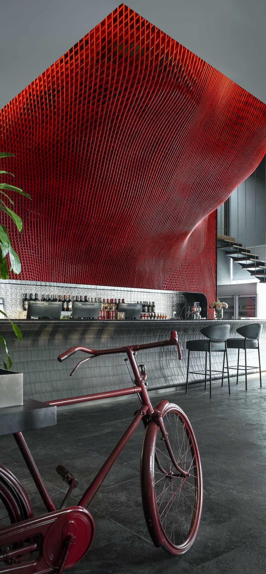 bar interiors / IN.X - Interior Architect Wu Wei