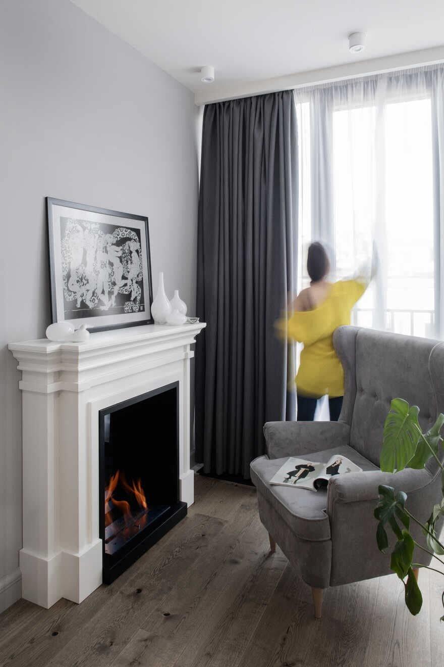 fireplace, Armenia / Futuris Home