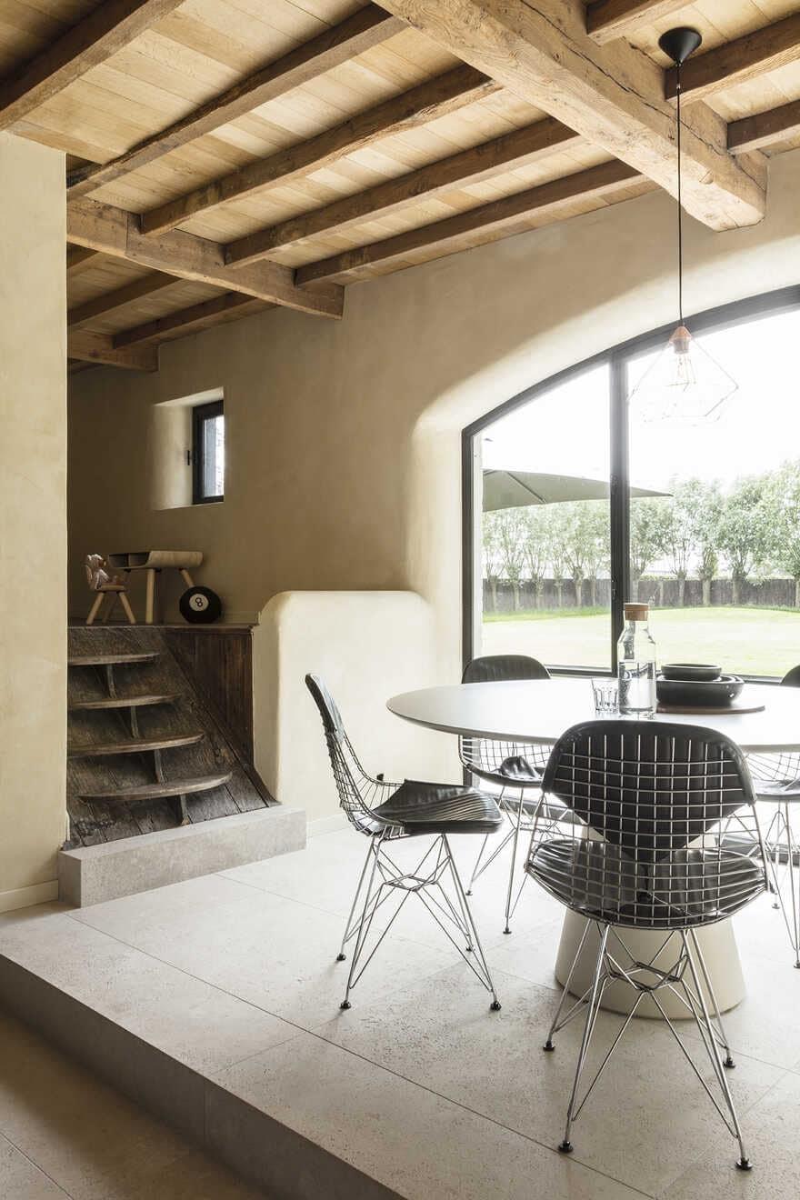 dining room, JUMA Architects