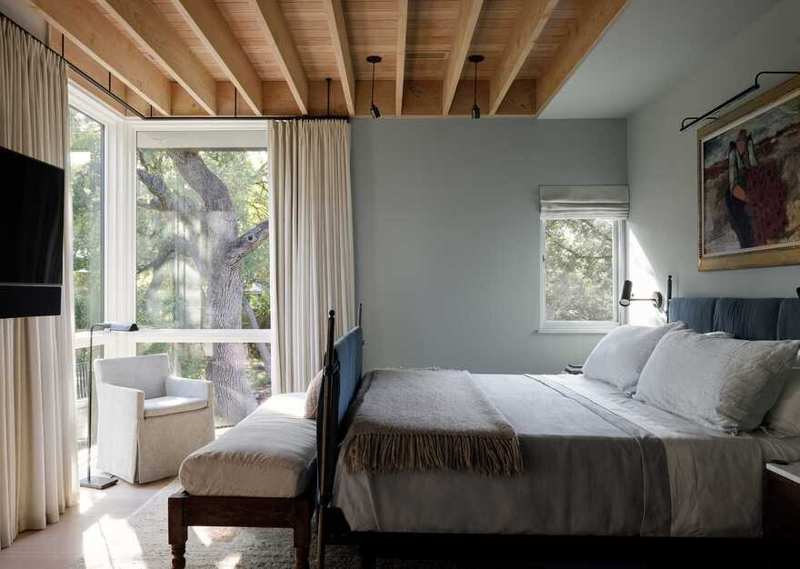 bedroom, Texas / Tim Cuppett Architects