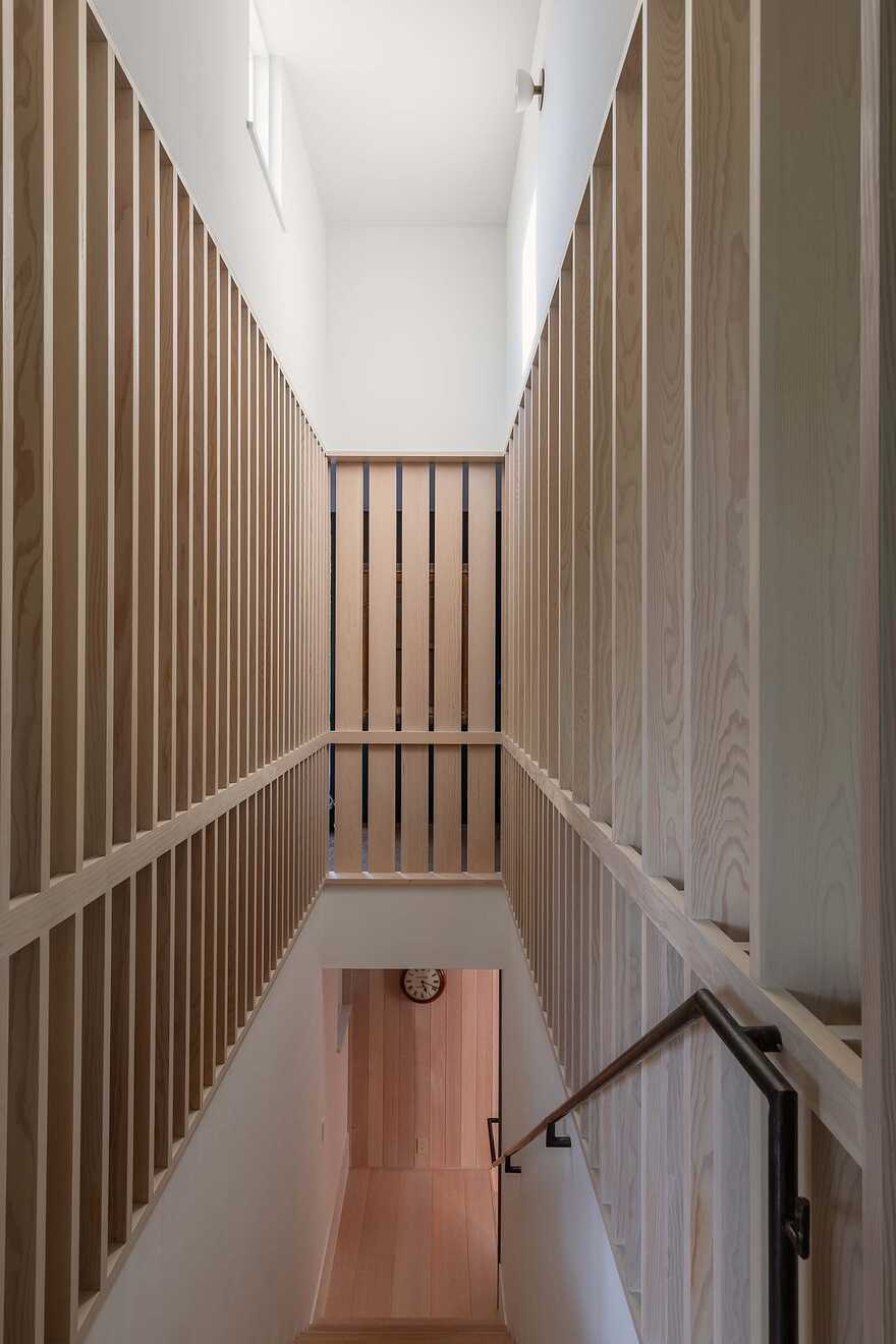 staircase, Texas / Tim Cuppett Architects