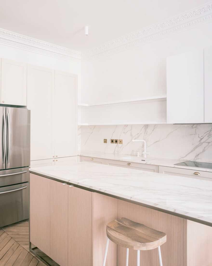 kitchen, Paris / Nathalie Eldan Architecture