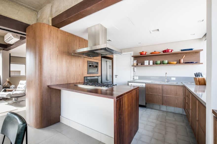kitchen, Brazil / Mandarina Arquitetura