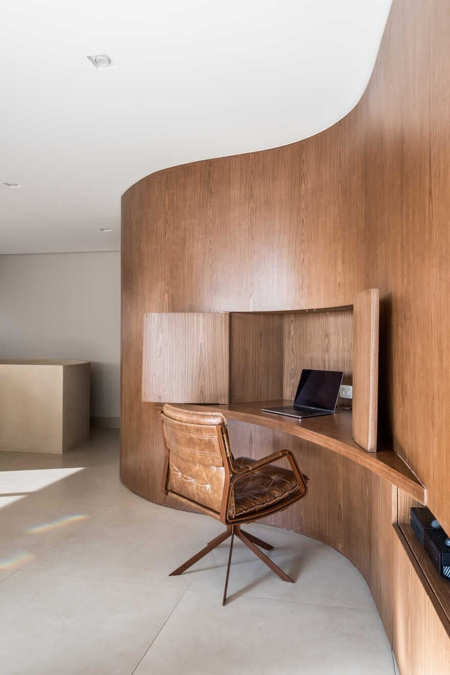 home office, Brazil / Mandarina Arquitetura