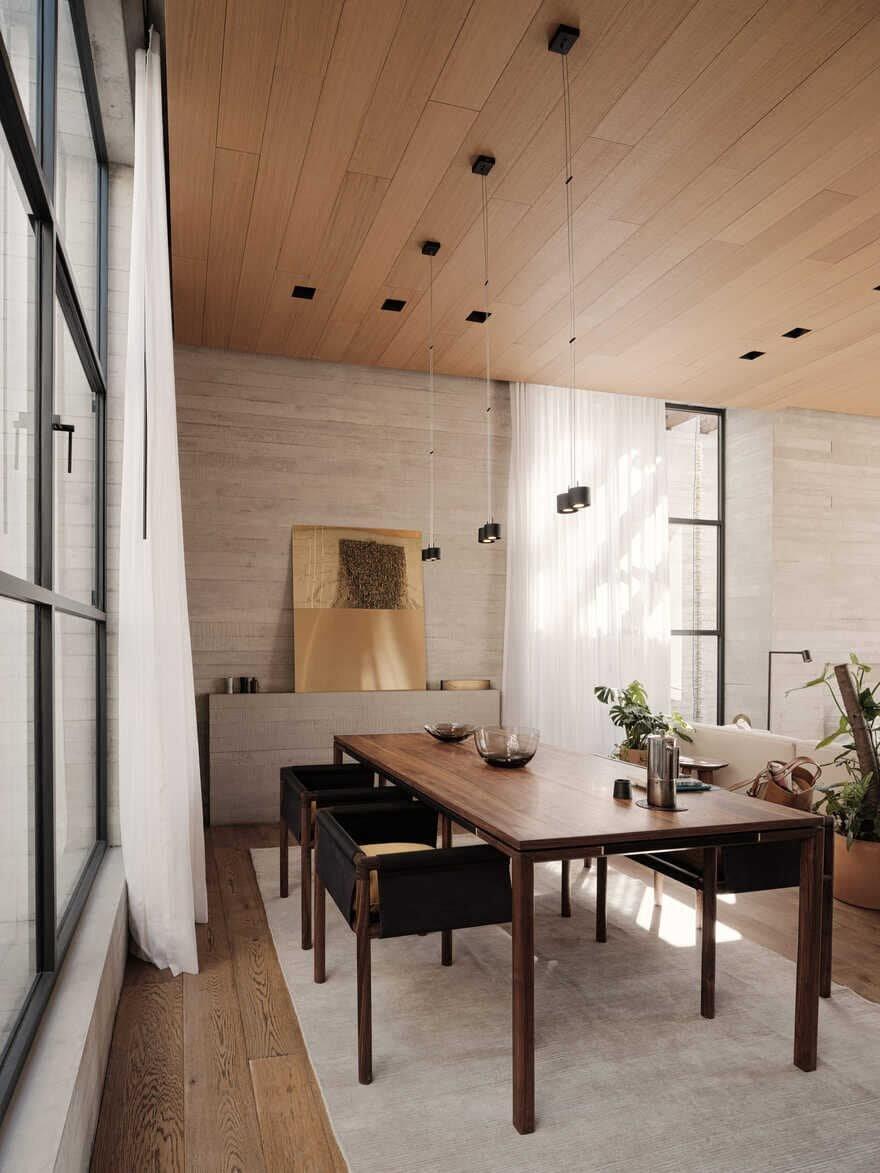 dining room, Studio Rick Joy
