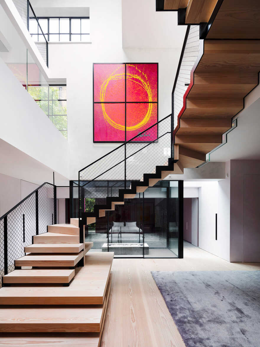 staircase, Chelsea / Rodić Davidson Architects