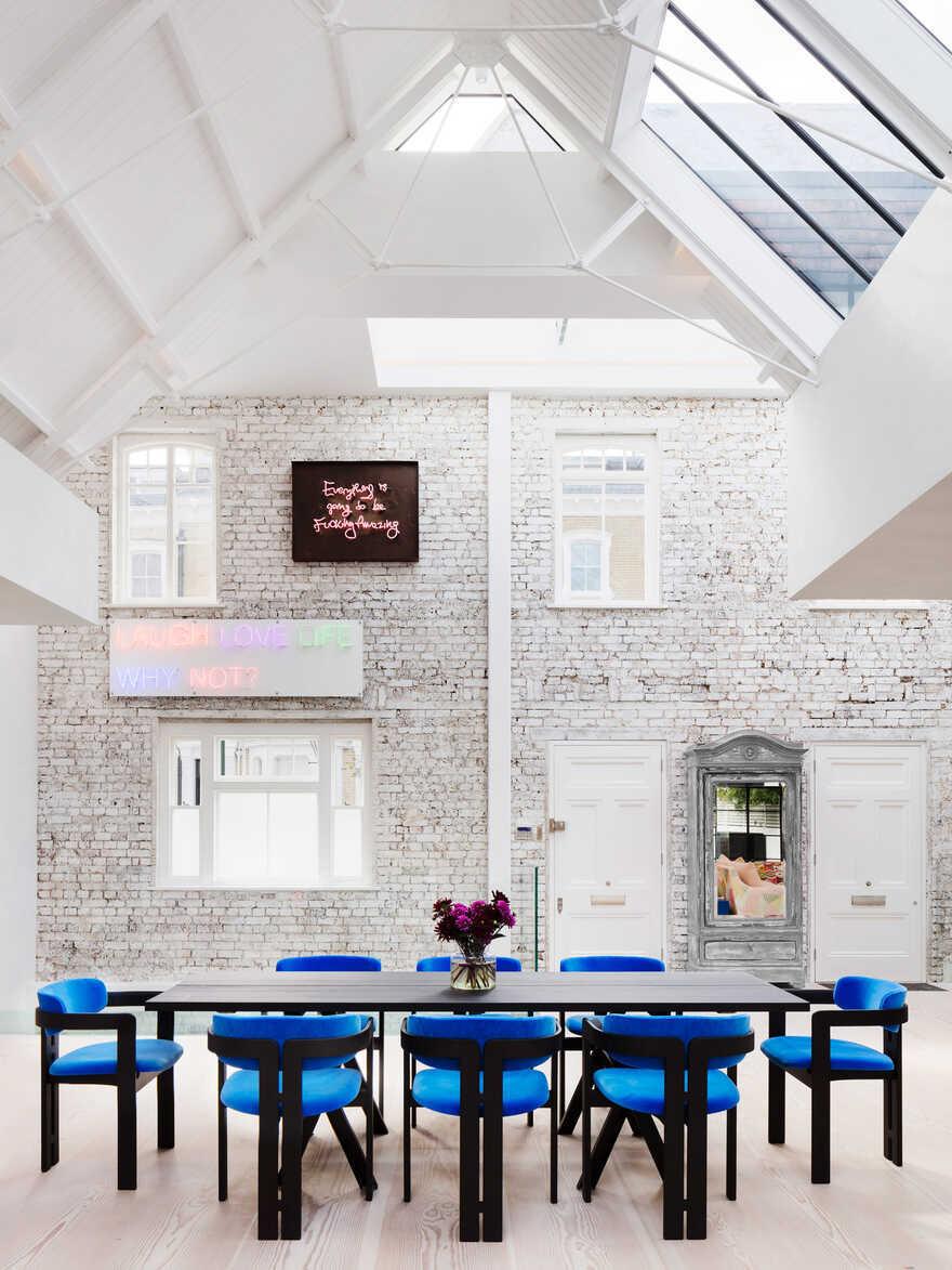 dining room, Chelsea / Rodić Davidson Architects