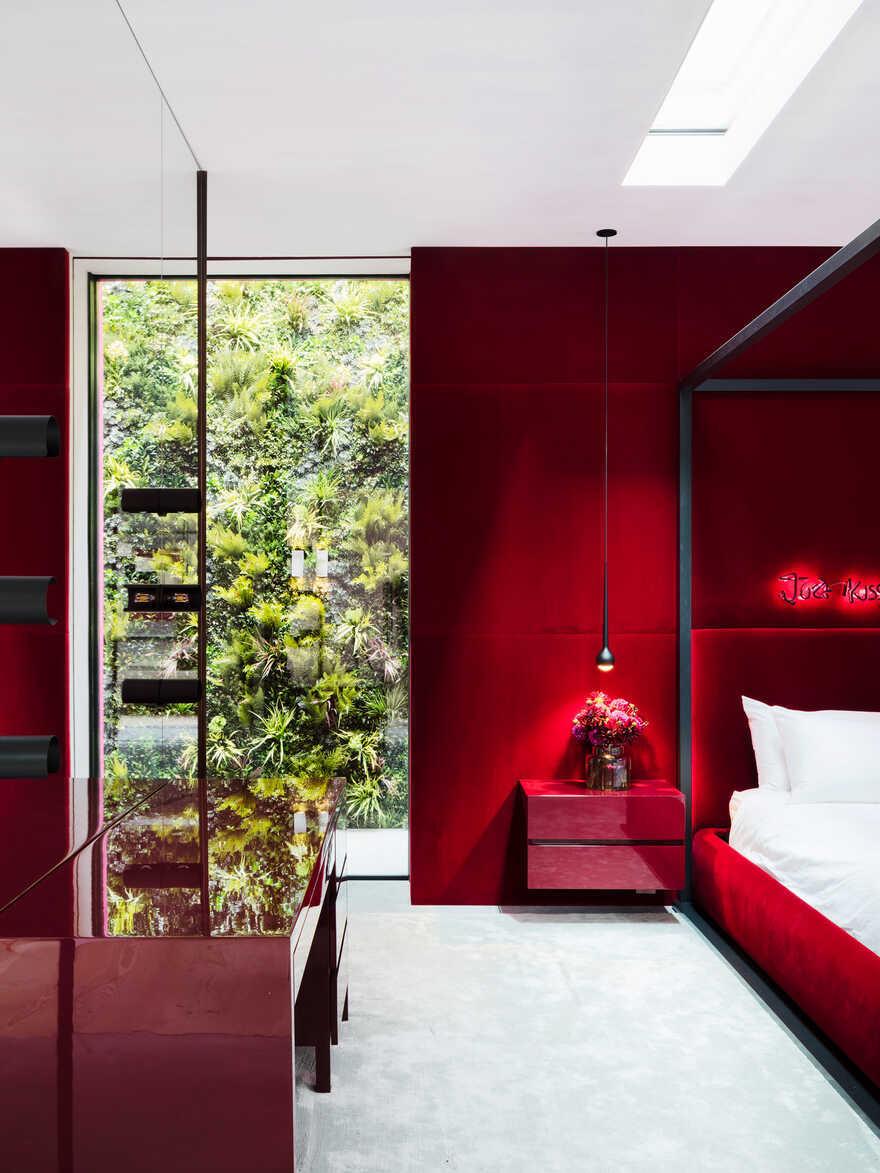 bedroom, Chelsea / Rodić Davidson Architects
