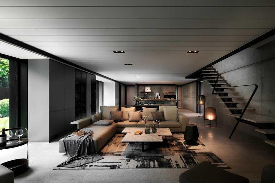living room, Chain10 Architecture & Interior Design Institute