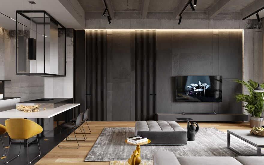 Ok Loft, Moscow / Cartelle Design
