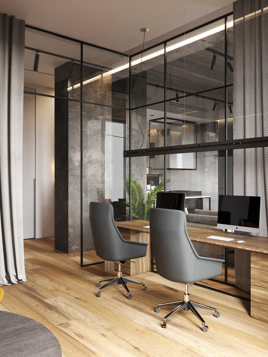 home office, Moscow / Cartelle Design