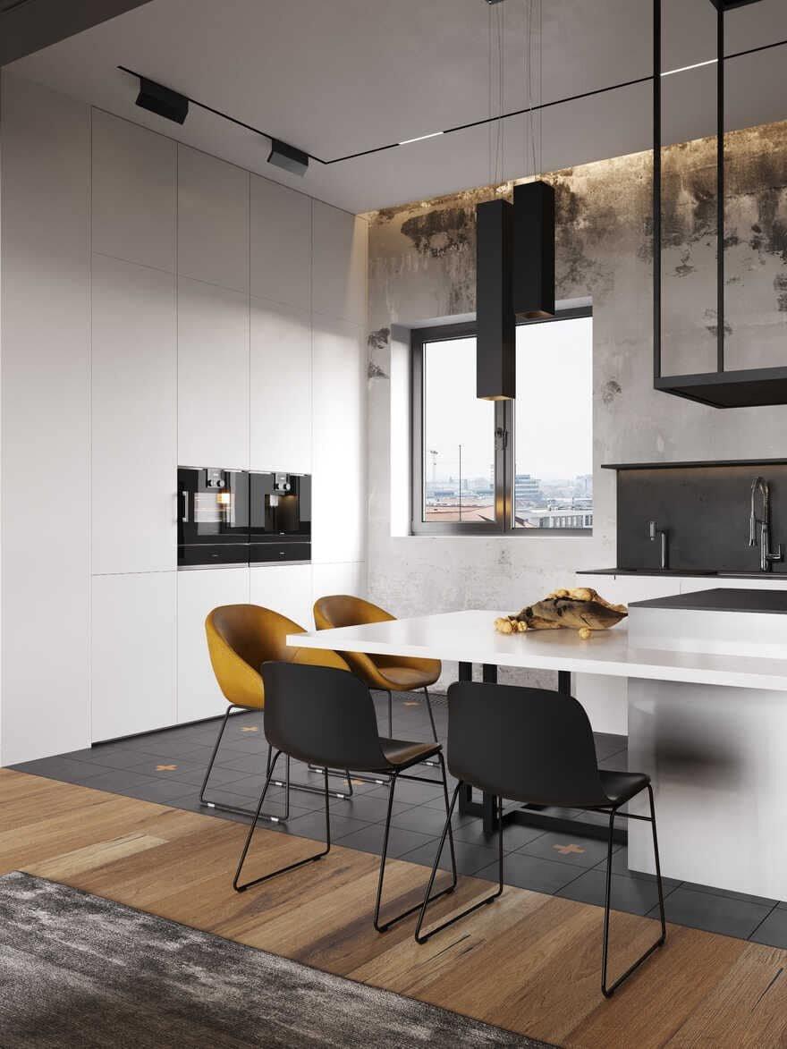 kitchen, Moscow / Cartelle Design