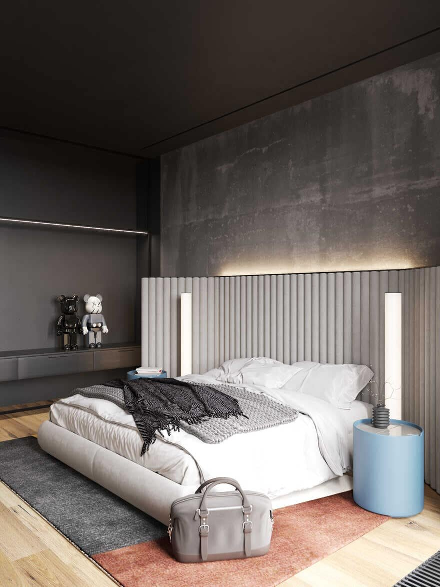 bedroom, Moscow / Cartelle Design