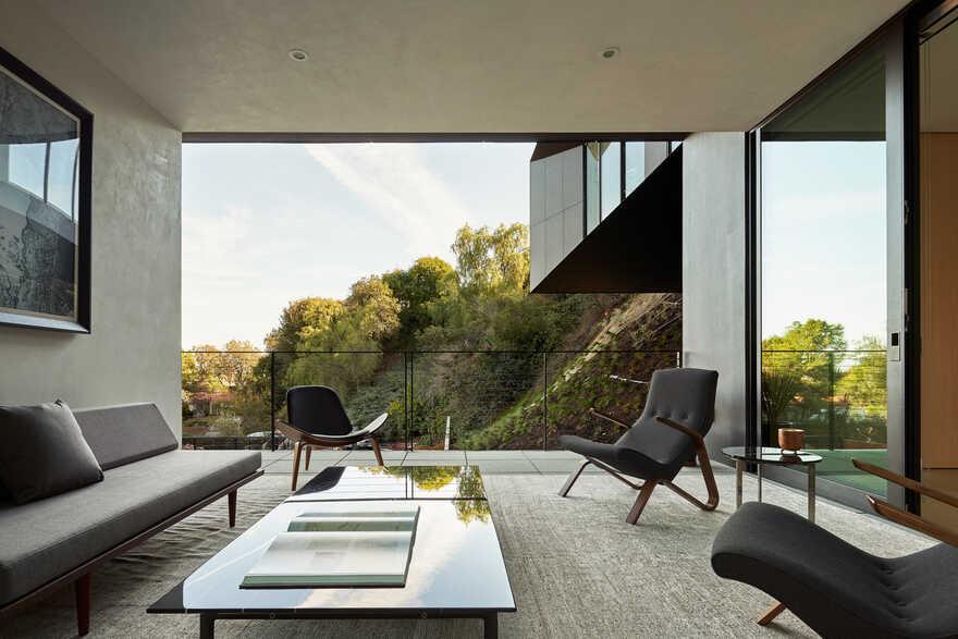 living room / Montalba Architects