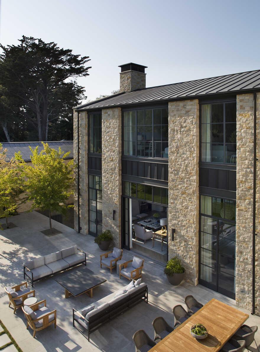 terrace, San Francisco Bay Area / Richard Beard Architects