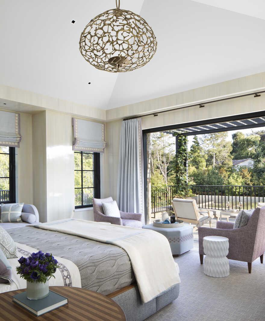 bedroom, San Francisco Bay Area / Richard Beard Architects