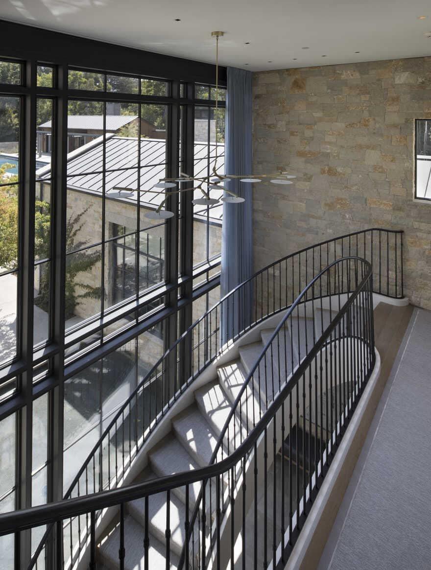 staircase, San Francisco Bay Area / Richard Beard Architects