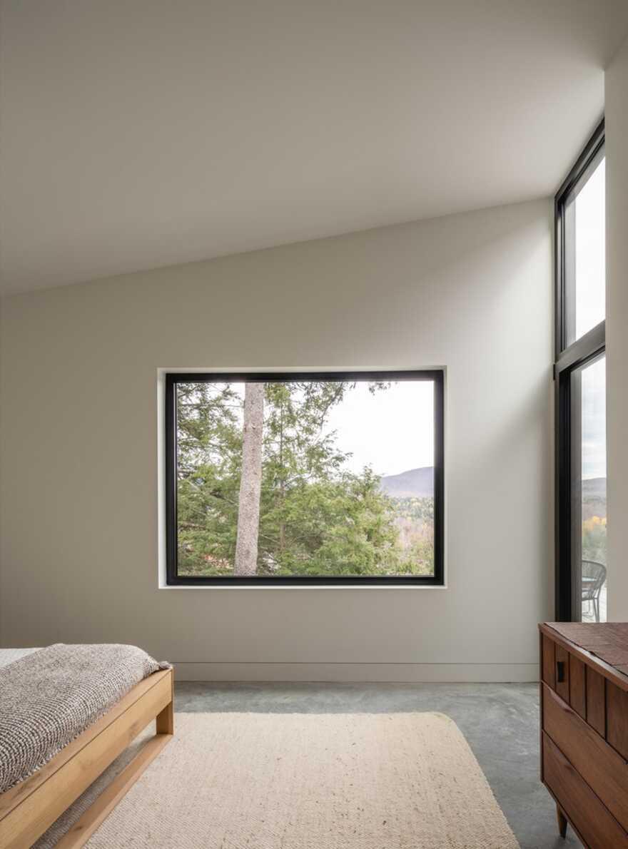 bedroom, Québec / Natalie Dionne Architecture